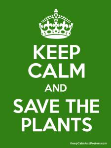 Salbar las plantas!